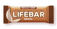Lifebar baton cu nuci braziliene raw eco 47g