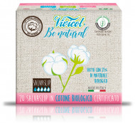 Protej slip ultra subtire din bumbac bio, hipoalergenic (20 buc) - VIVICOT Be Natural