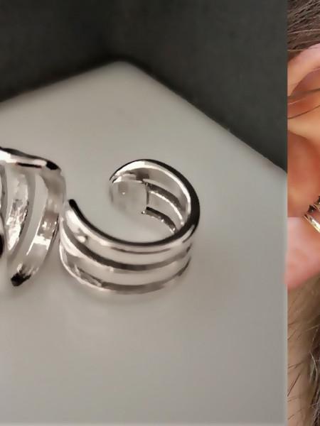 Cercei argint pentru lob-ORSS3451RH3