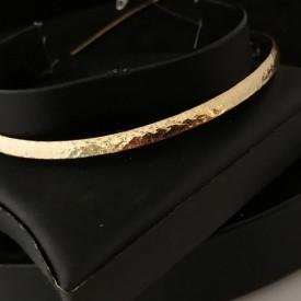 Colier plat -argint placat cu aur -CTOM0111RB4GI