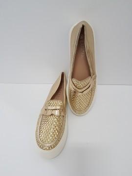Дамски спортни обувки W01 GOLD / Women's sports shoes