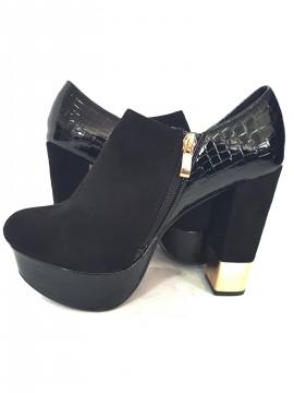 дамски обувки - набук и лак / women's shoes - nubuck and lacquer