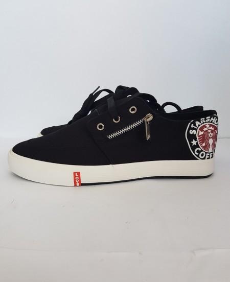 мъжки гуменки R-302 черно /men's sports shoes R-302 black