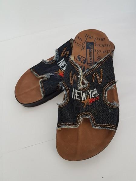 мъжки чехли-деним Goldstar / men's flip flops - denim