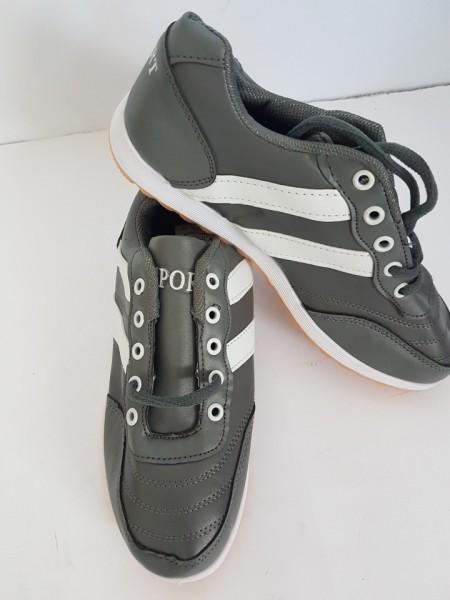 дамски маратонки А5 сиво/бяло / womens sneakers А5 gray / white