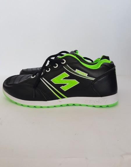 дамски маратонки 2212 черно/зелено / womens sneakers 2212 black / green