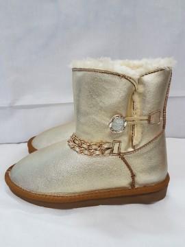 Дамски БОТИ СРЕБРО / Ladies boots