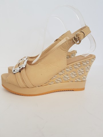 дамски сандали 86-6 beige / ladies sandals