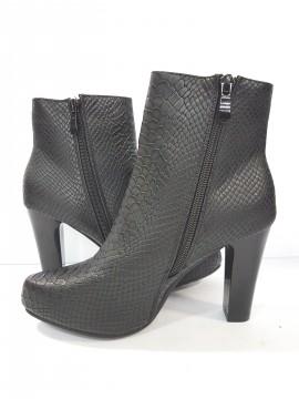 дамски боти гладка кожа / women's boots smooth leather