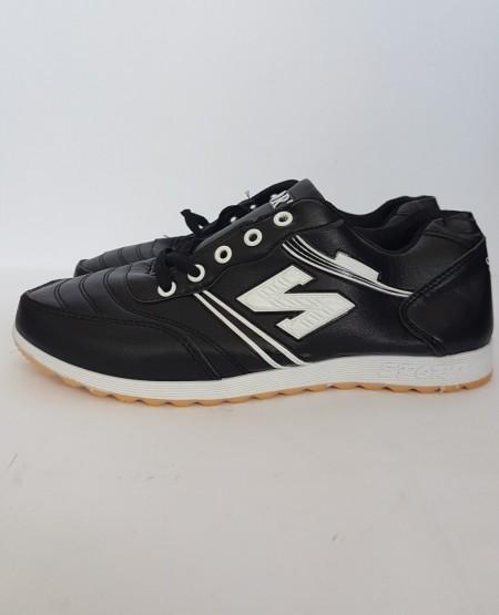 дамски маратонки 2212 черно/бяло /womens sneakers 2212 black and white