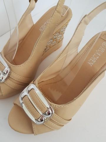 дамски сандали 86-6 beige / ladies sandals