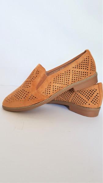 дамски обувки 4664 - camel