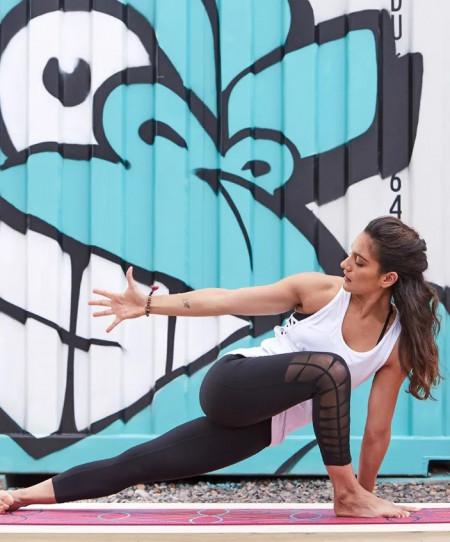 Saltea Yoga Gaiam 6 mm Premium Radiance
