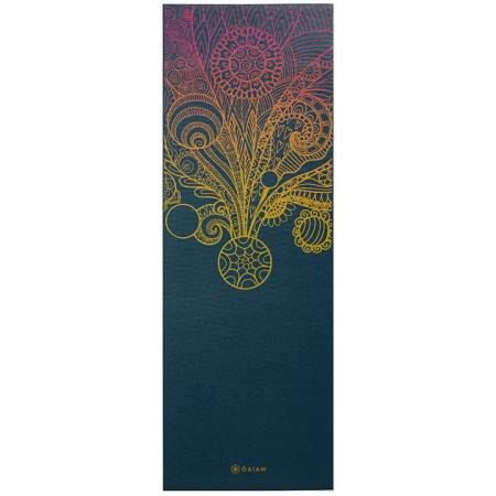 Saltea Yoga Gaiam 4 mm Vivid Zest