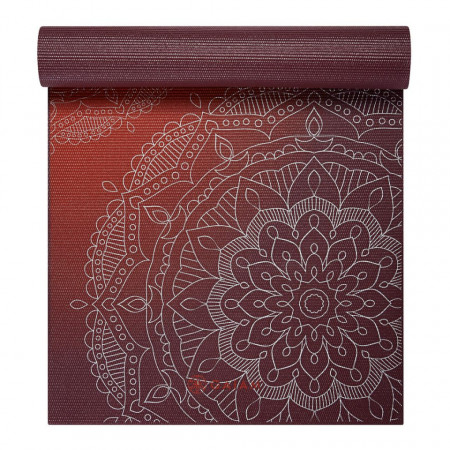 Saltea Yoga Gaiam 6 mm Metallic Sun