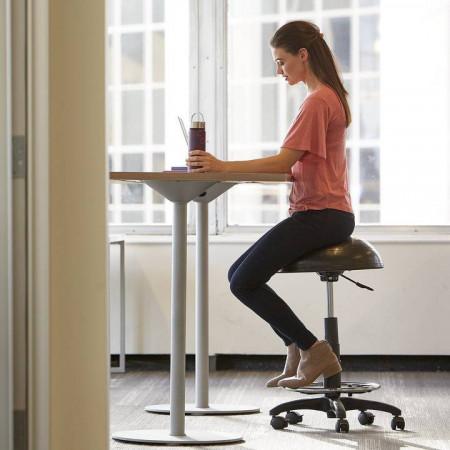 Scaun Cu Minge Reglabil Pentru Standing Desk
