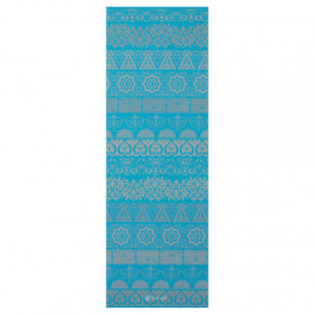 Saltea Yoga Gaiam Reversibila 6 mm Kiku