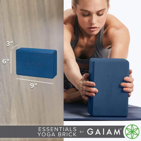 Caramida Yoga Gaiam Essentials Bleumarin