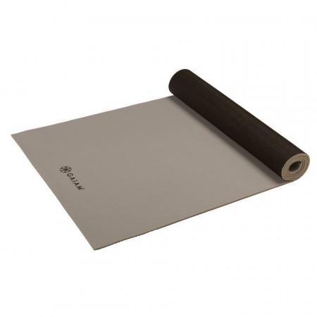Saltea Yoga Gaiam Reversibila 6 mm Granite Storm