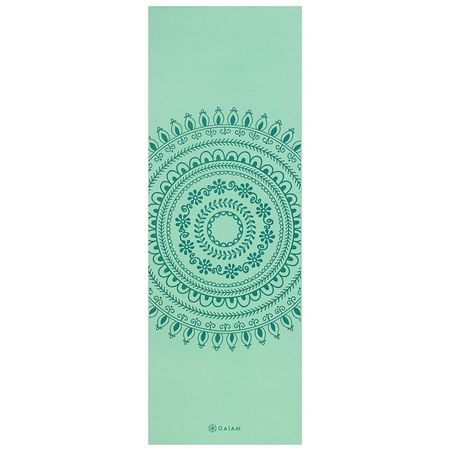 Saltea Yoga Gaiam 6 mm Marrakesh