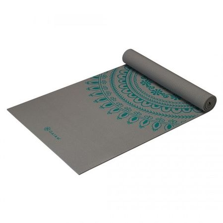 Saltea Yoga Gaiam Premium XL 6 mm Teal Marrakesh