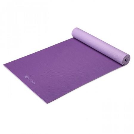 Saltea Yoga Gaiam Reversibila 5 mm Plum Jam