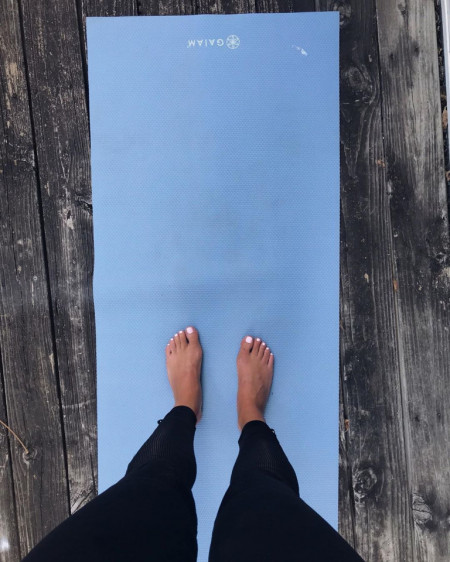 saltea yoga clasica