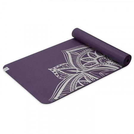 Saltea Yoga Gaiam 6 mm Aubergine Medallion