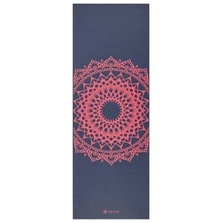 Saltea Yoga Gaiam 4 mm Navy Fleur Marrakesh