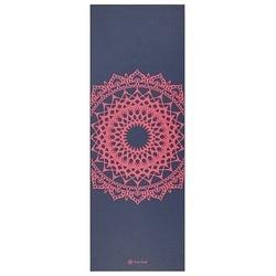 Saltea Yoga Gaiam 4 mm Navy Fleur Marrakesh