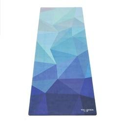 Saltea Commuter Yoga Design Lab 1,5 mm Geo Blue