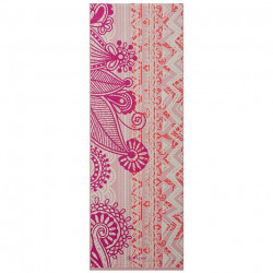 Saltea Yoga Gaiam 4 mm Bohemian Rose