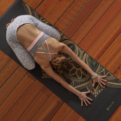 Saltea Yoga Gaiam 6 mm Bronze Medal