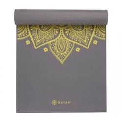 Saltea Yoga Gaiam 6 mm Citron Sundial