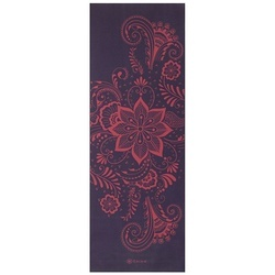 Saltea Yoga Gaiam 6 mm Aubergine Swirl