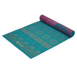 Saltea Yoga Gaiam Reversibila 6 mm Kiku