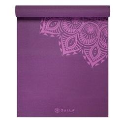 Saltea Yoga Gaiam Premium 6 mm Purple Mandala