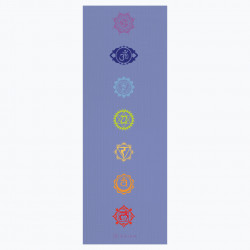 Saltea Yoga Gaiam 4 mm Chakra