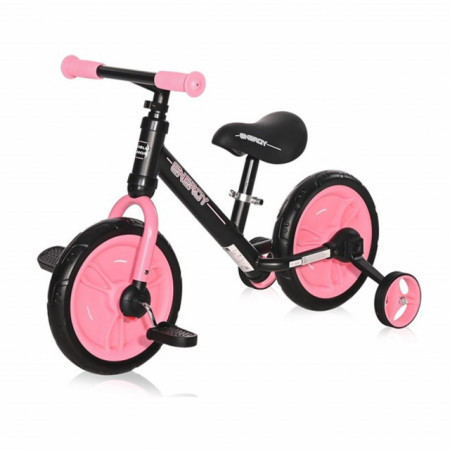 Lorelli Balans Bike ENERGY 2 u 1 Black & Pink
