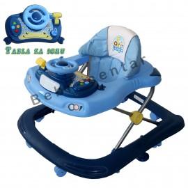 Slika Dubak - šetalica za decu Jungle Driver Blue