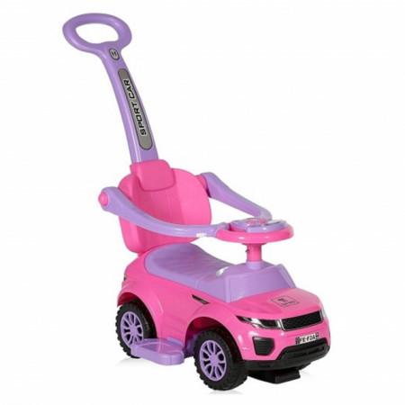 Lorelli Guralica Ride-On Auto off Road + handle Pink