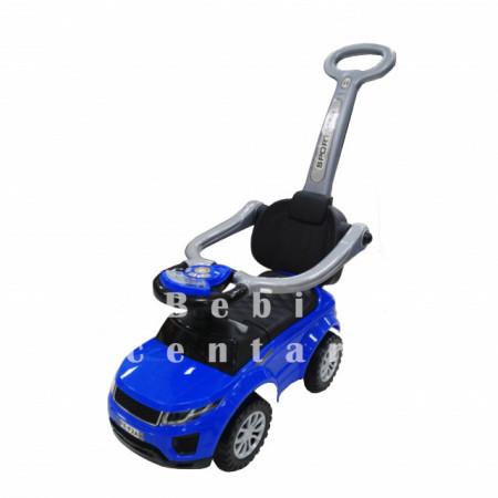 Slika Guralica za decu Sport Car Blue sa ručkom za guranje