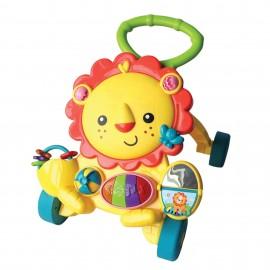 Muzička guralica za prohodavanje i igračka za decu 3 u 1 Lorelli Piano Activity Lion images