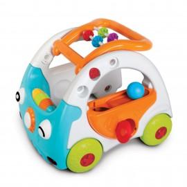 Slika B Kids Guralica za prohodavanje i igračka za decu sa zvukom i svetlom Sensory Car 2 u 1