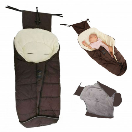 Cangaroo zimska vreća za bebe Fluffy Brown