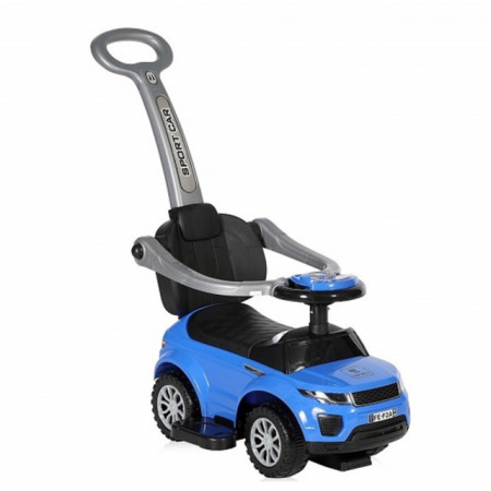 Slika Guralica Ride-On Auto off Road + handle Blue
