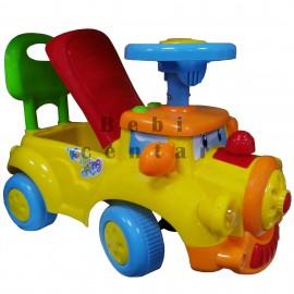 Slika Guralica za decu Lokomotiva Yellow