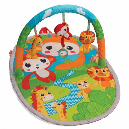 Slika Infantino Podloga za igru Explore & Store Monkeys