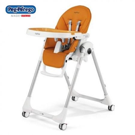 Slika Peg Perego stolica za hranjenje Prima Pappa Follow Me Arancia