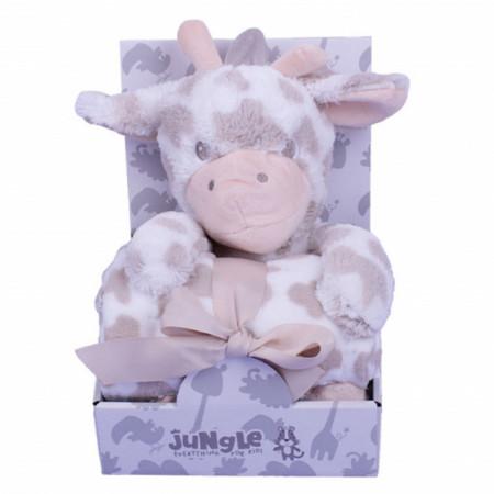 Slika Ćebe za bebe i igračka Žirafa